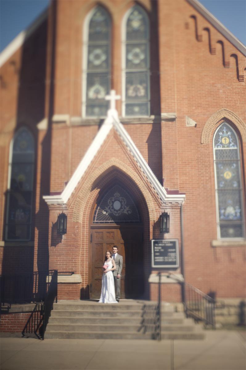 A Tilt-Shift Wedding